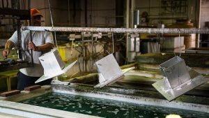 جایگزین پوشش کادمیوم کروماته جهت پوشش قطعات آلومینیوم