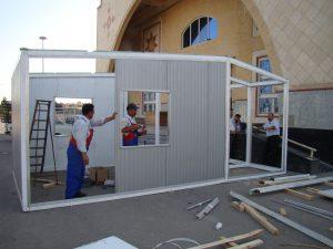 تولید و طراحی کانکس ها ، خانه ها و سازه های تاشونده ثابت و قابل حمل