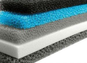 بسترهای جذب به صورت فوم های منعطف و غیر منعطف