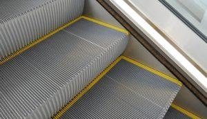 لبه زرد پله برقی هیوندایی